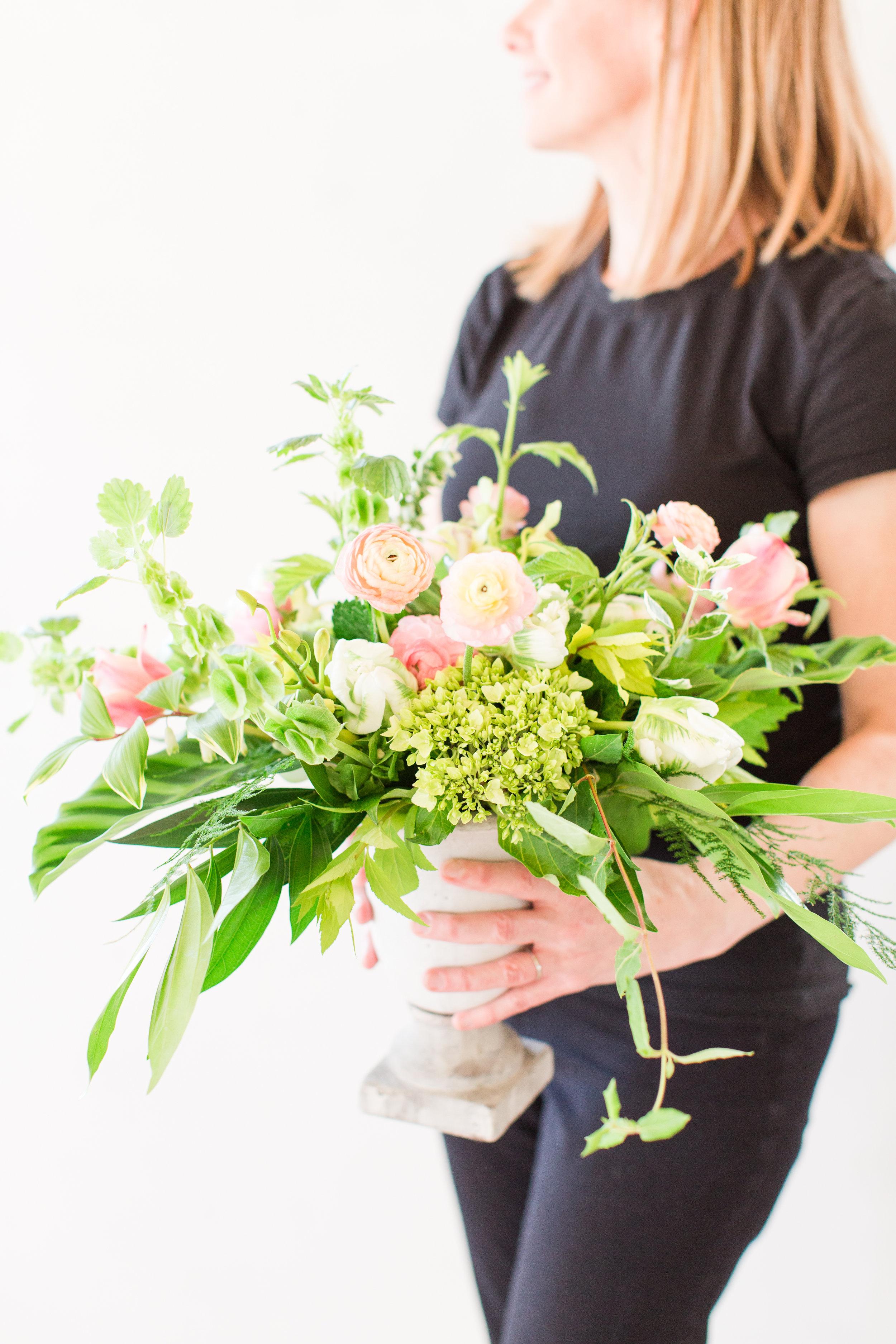 Lark Floral Centerpiece