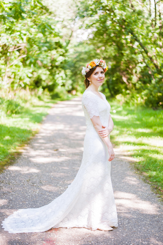 Natural Bridal Portrait