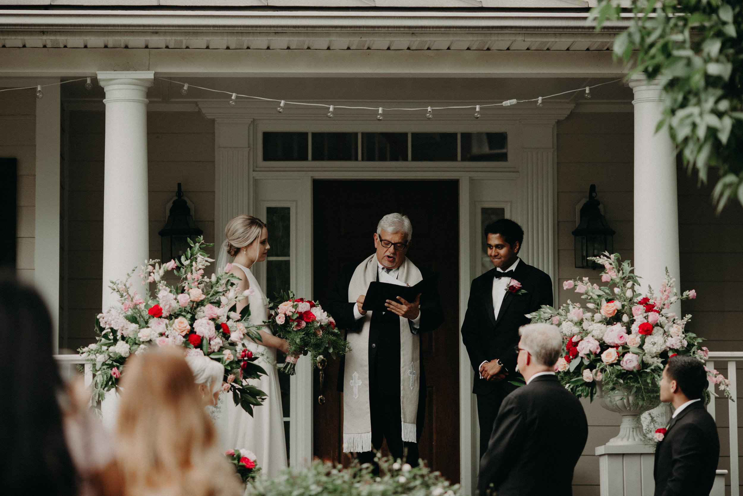 Wedding on Front Porch