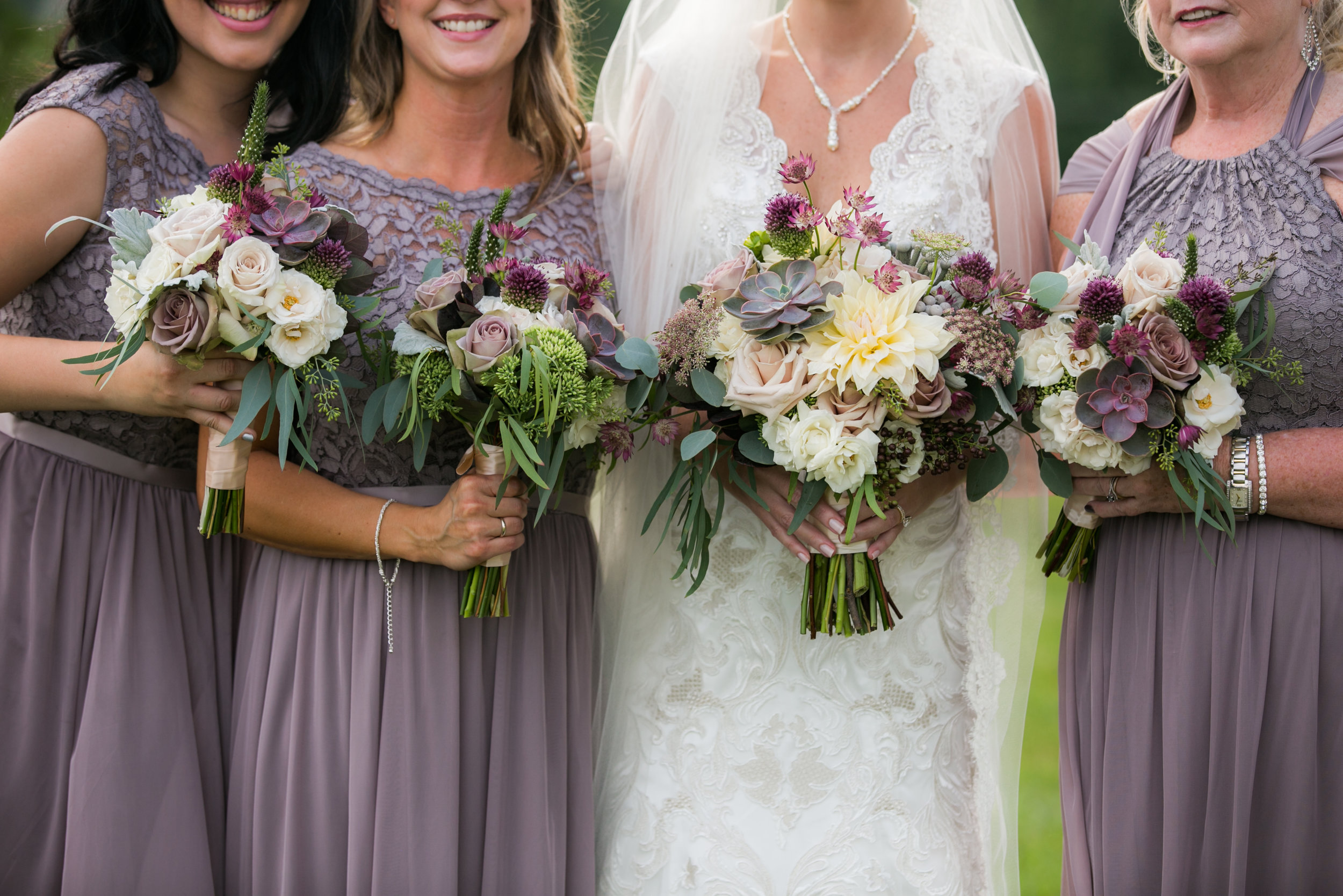 Lark Floral bouquets at Shadow Creek Weddings