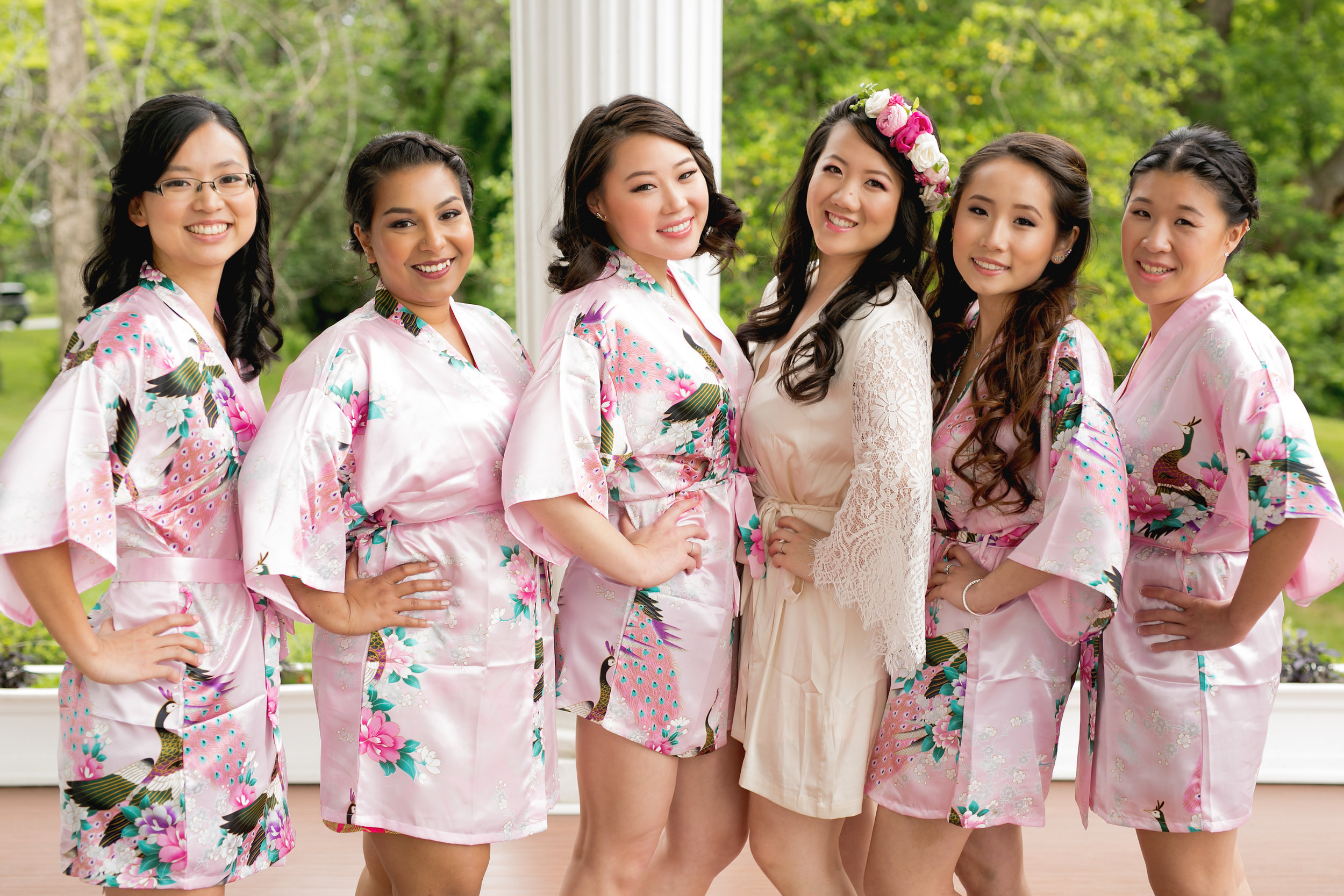 Bridesmaids robes