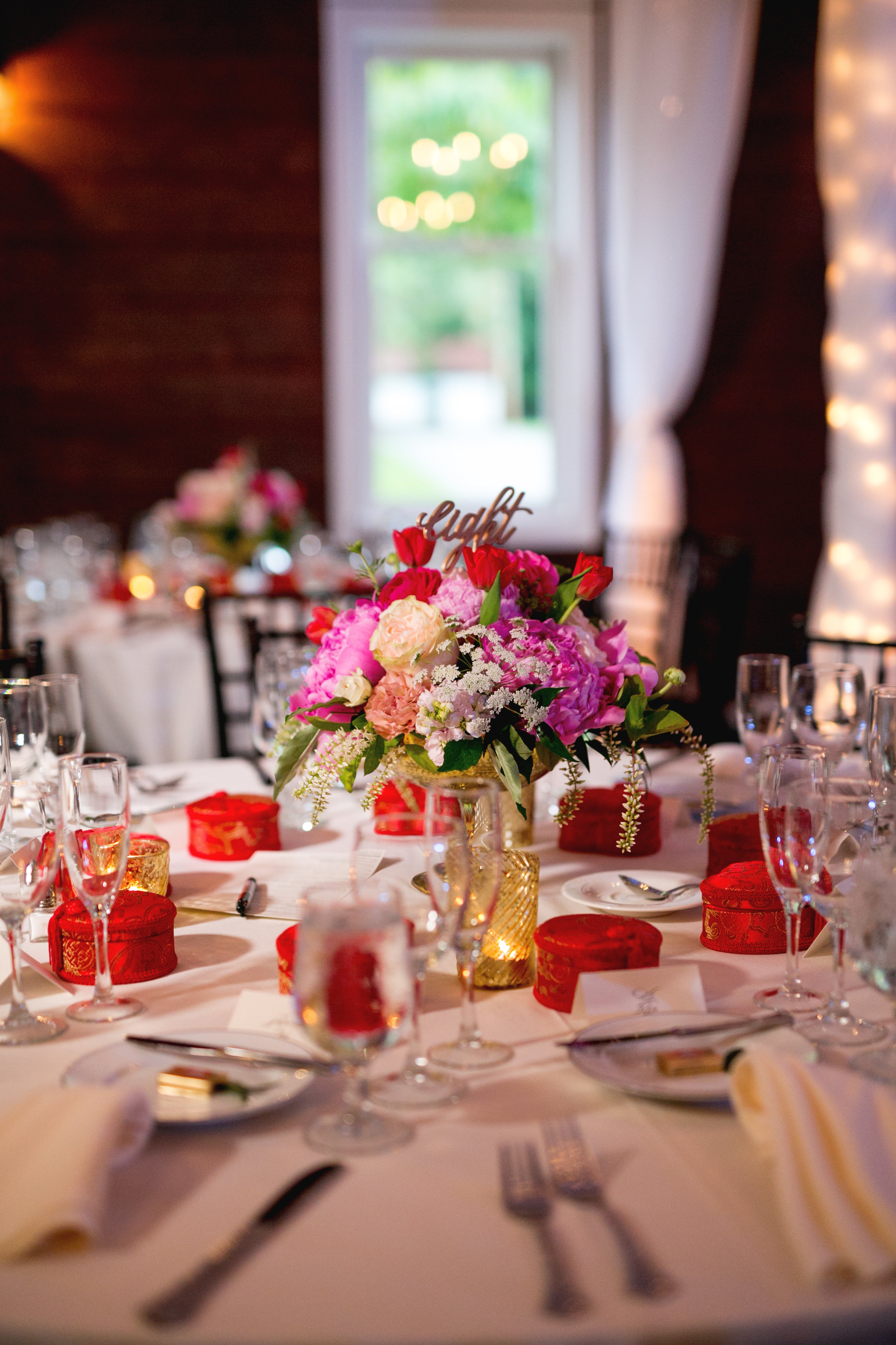 Pink and Red Chinese Wedding