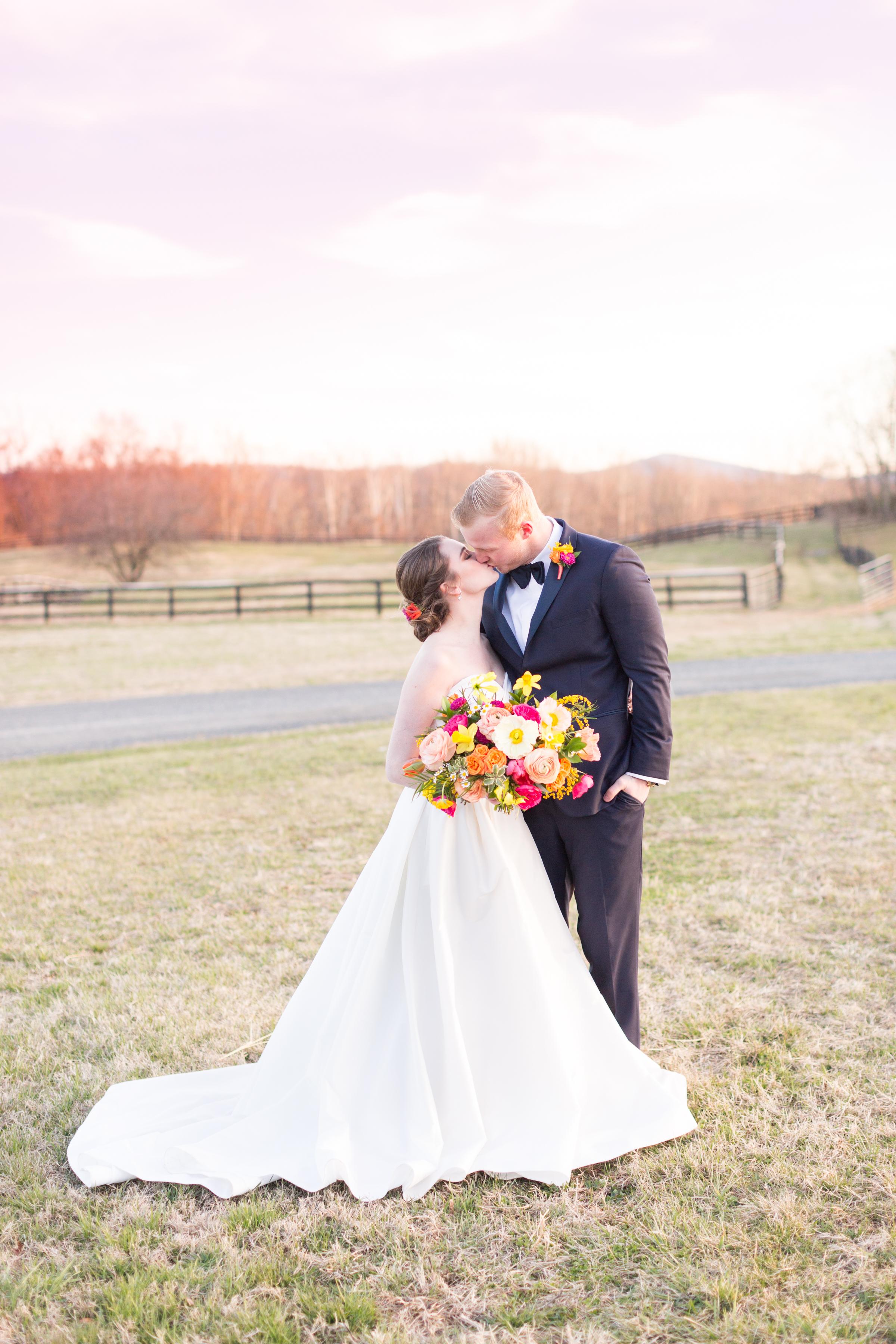 Equestrian Wedding at Middleburg Barn  Brett Denfeld Photography