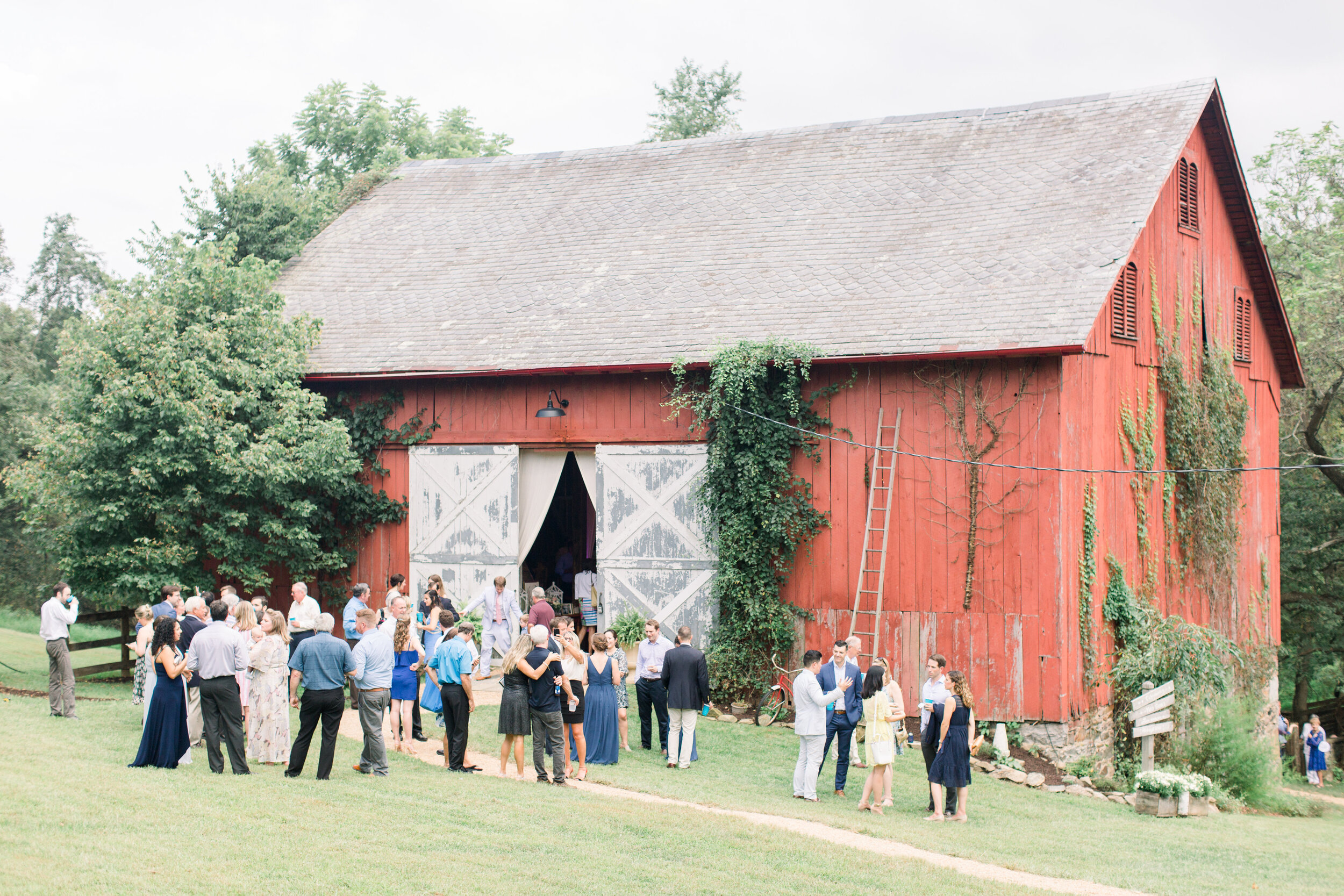 Wedding at Winding Creek Farm