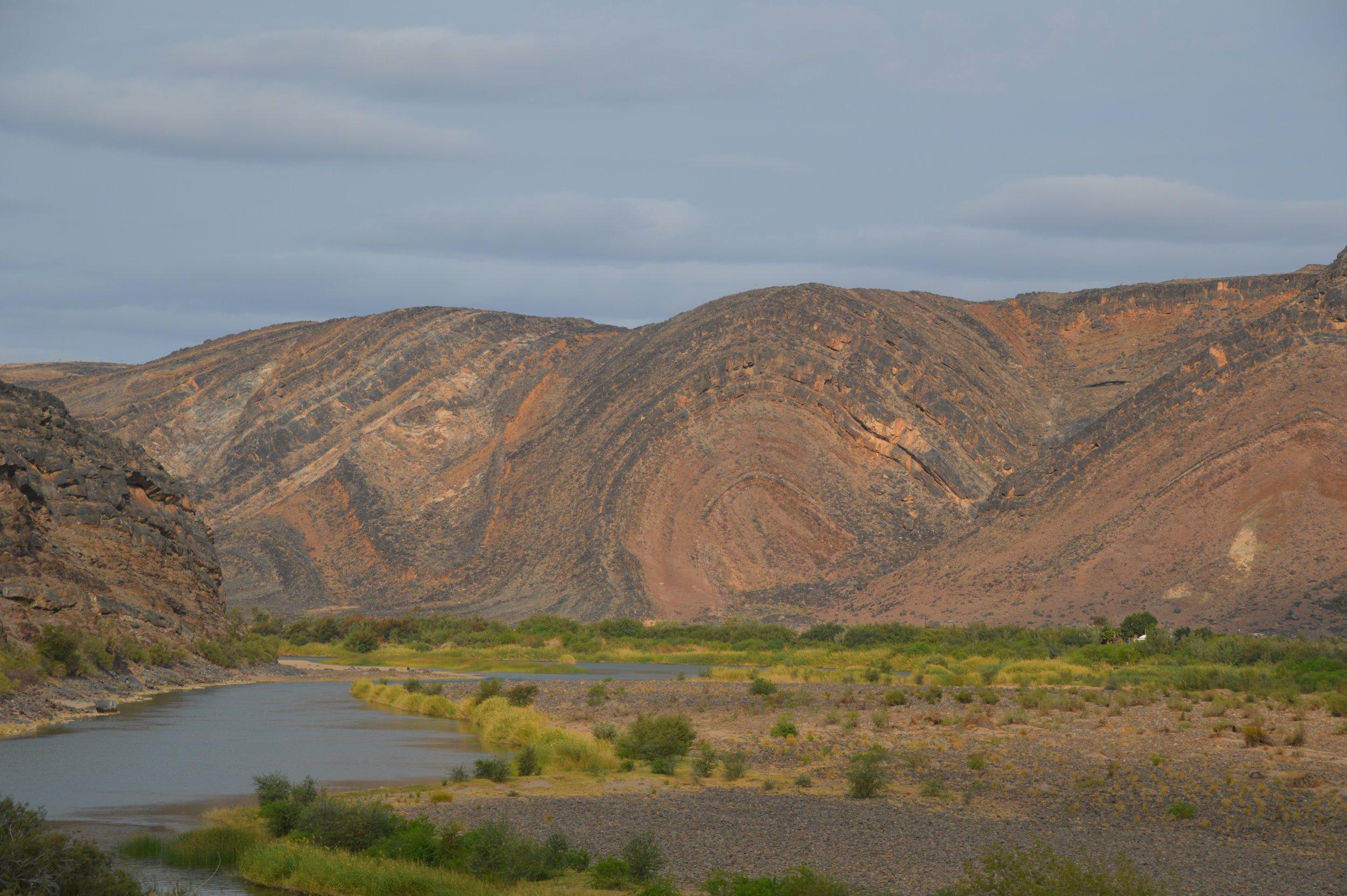 Ediacaran and Cambrian strata along the Orange River