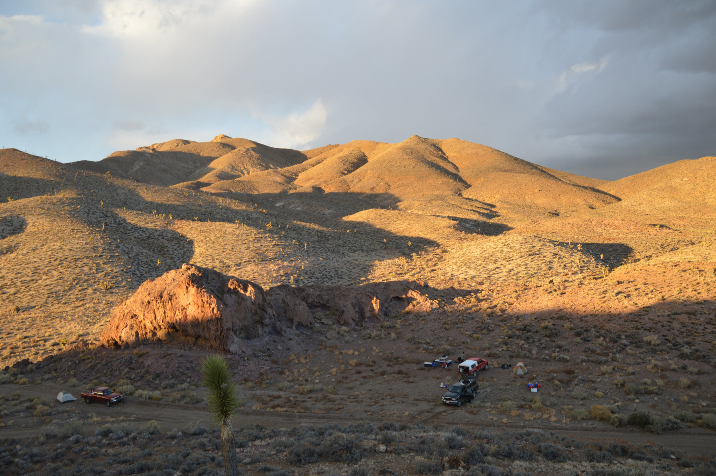 Campsite at Mt. Dunfee