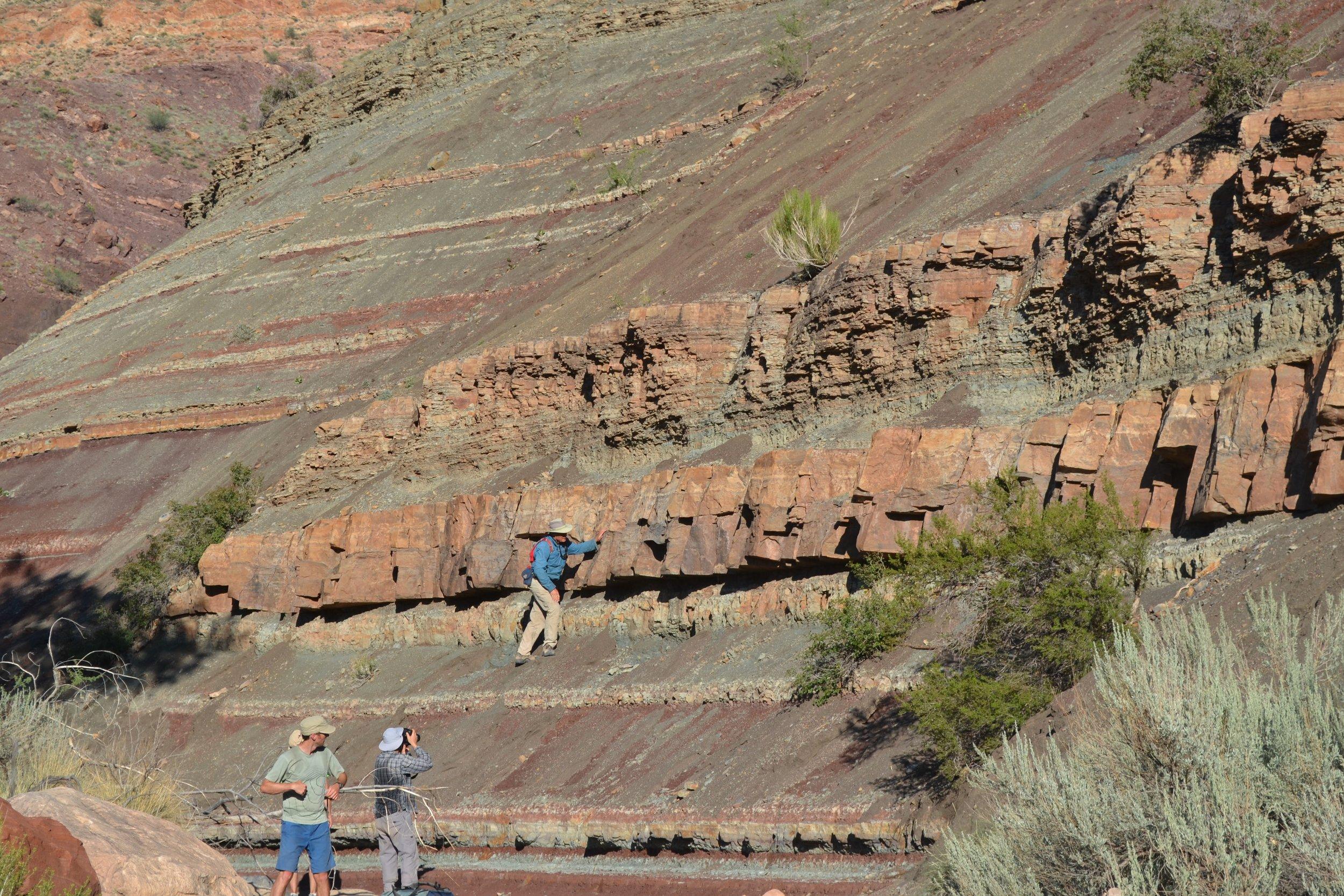 The Tonian Chuar Group in the Grand Canyon, AZ.