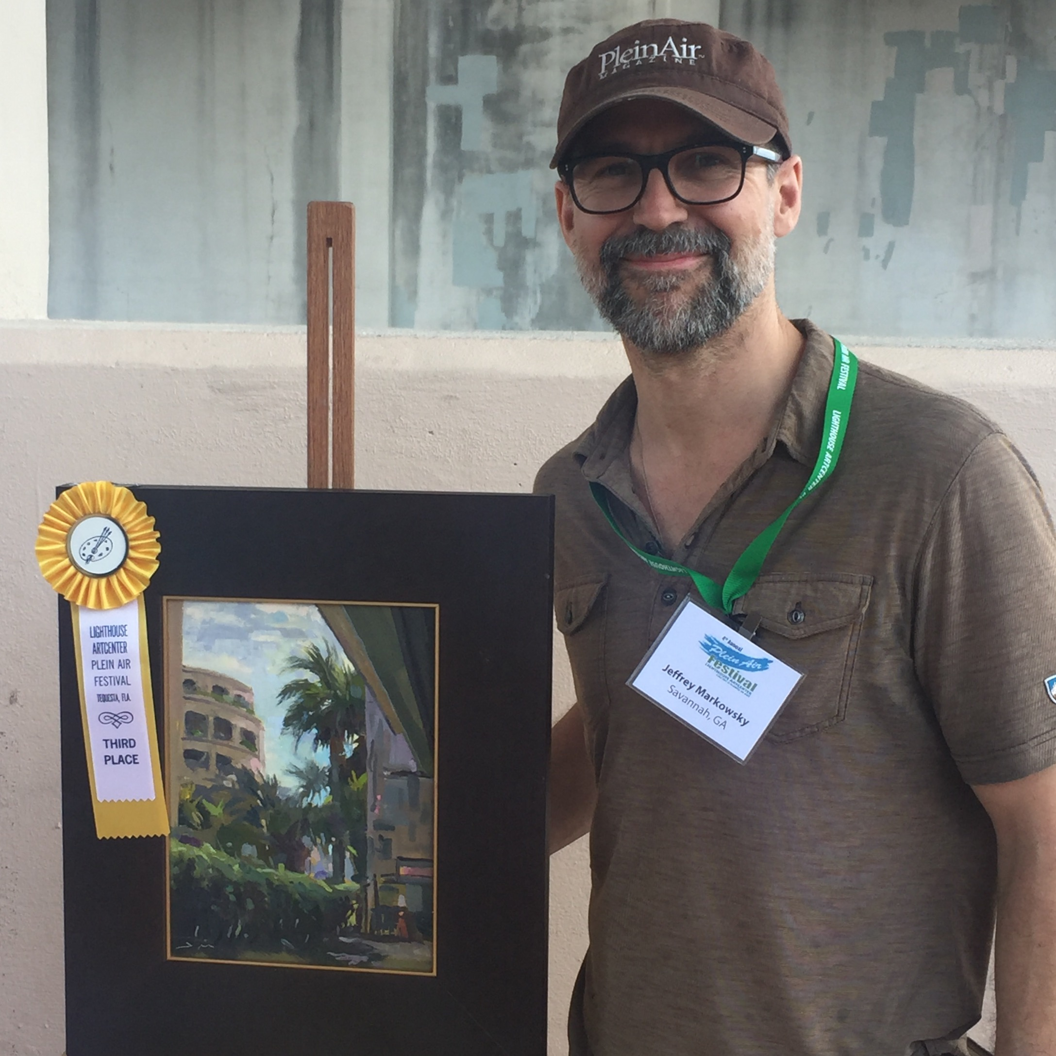 I was very grateful and honored to win Third Place at the Quick Paint during the 2017 4th Annual Lighthouse Plein Air Festival in Jupiter Florida. Special thanks to judge Goerge Van Hook for the honors.