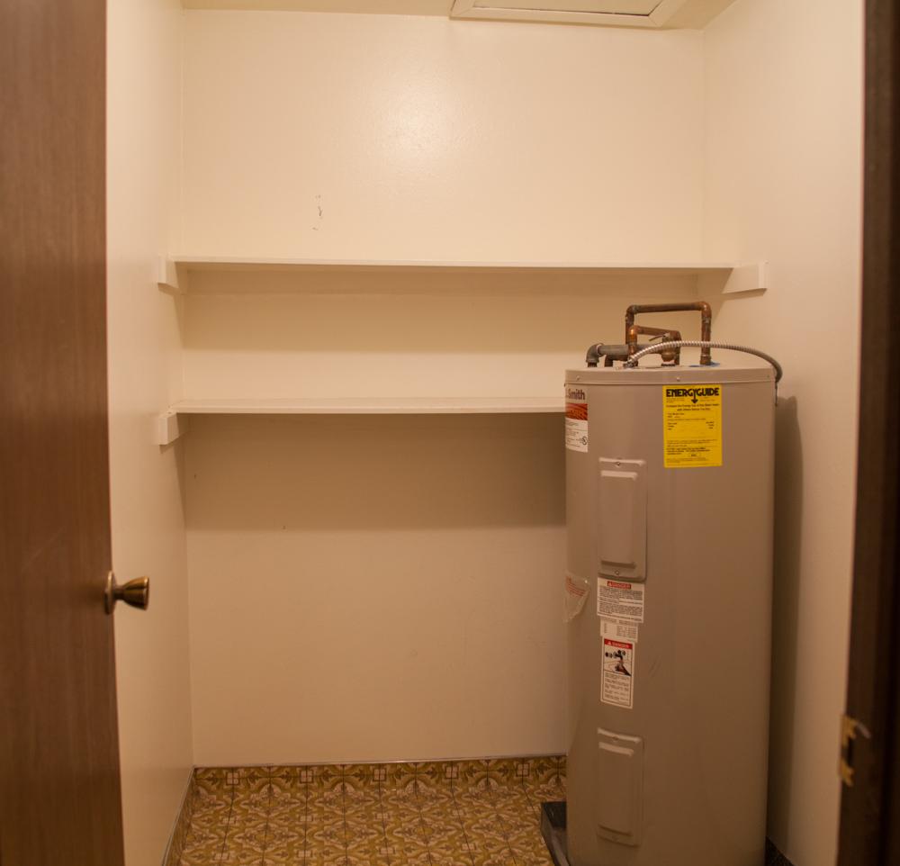 Large storage area