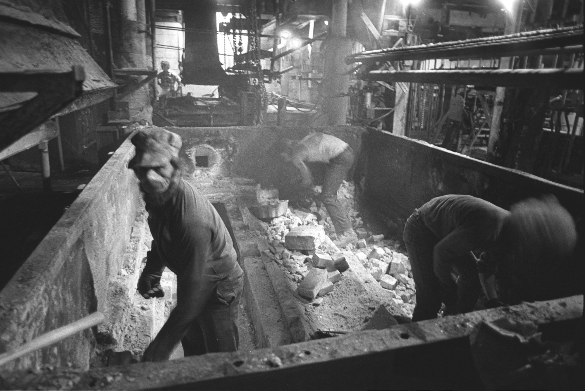 The Gilbert & Bennett wire mill manufactured goods from the late 1880's until it was abandoned in 1986.  People worked in the factory for over 150 years.     These photographs capture the factory's present life, it's life after life.