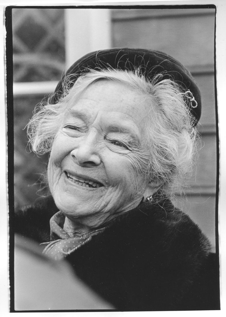 Helen Hayes Wilton CT. 1980