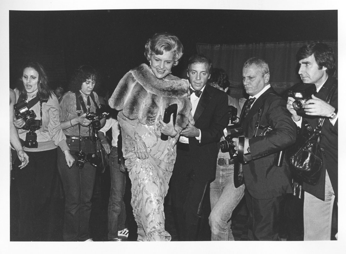 Betty Ford & Steve Rubell Studio 54 NYC 1979