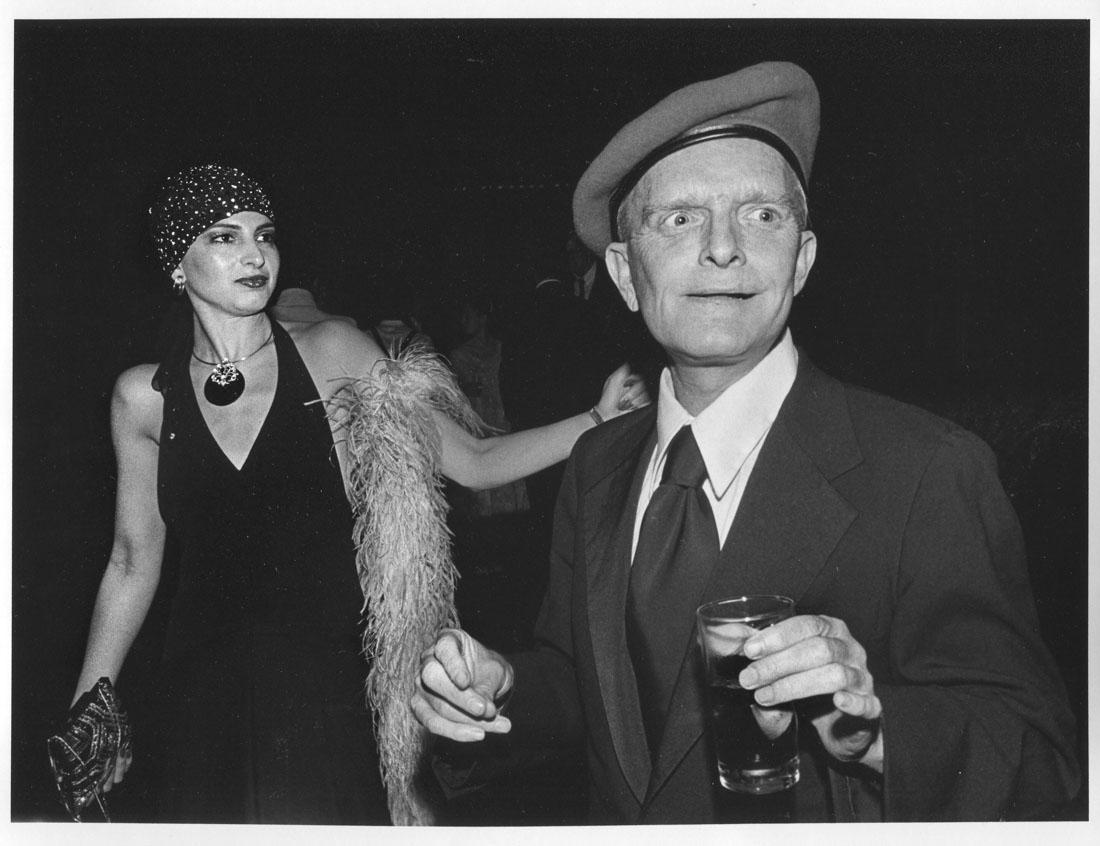 Truman Capote Studio 54 NYC 1979