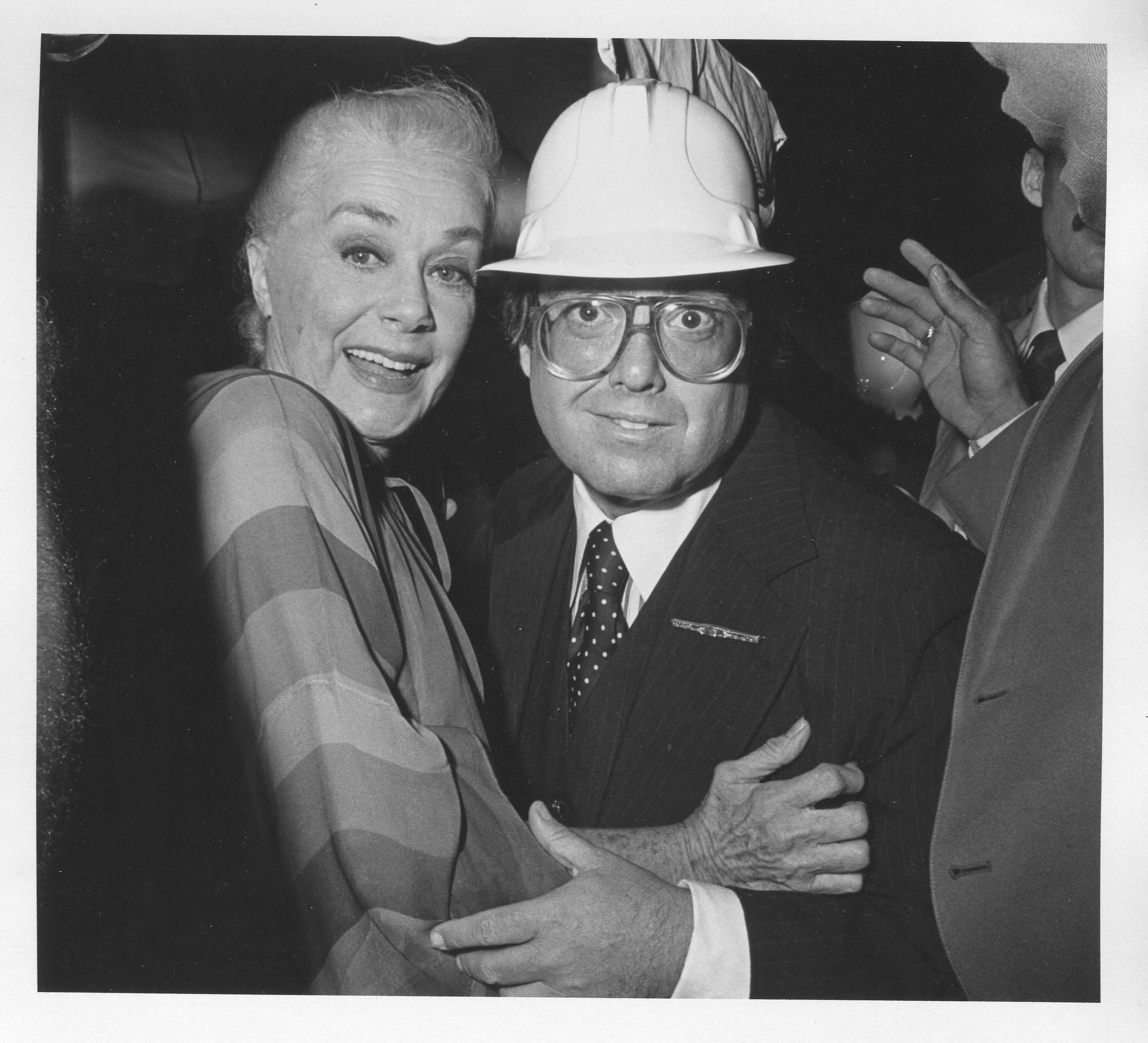 June Havoc & Allan Carr 1980