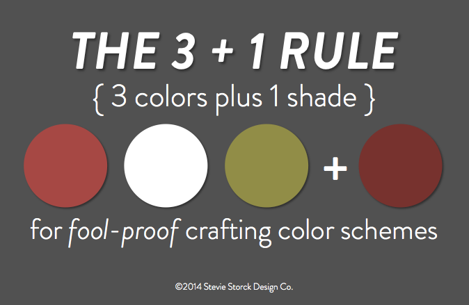 Stevie Storck Design Co - The 3+1 Rule