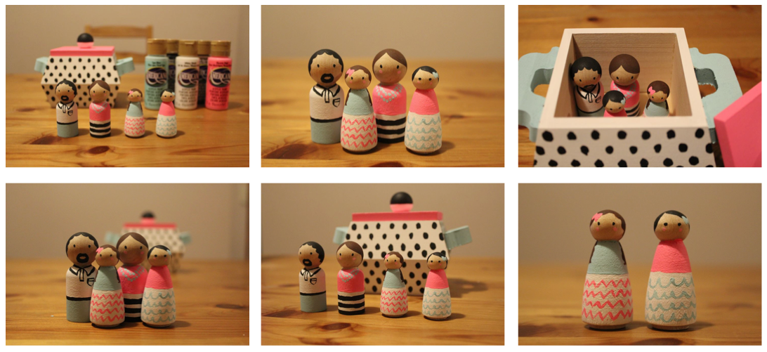 SSDC - DIY Wooden Doll Family 3