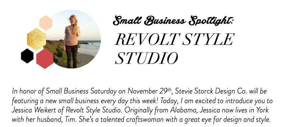 Stevie Storck Design Co. - Revolt Style Studio