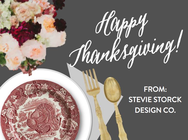 Stevie Storck Design Co. - Happy Thanksgiving!