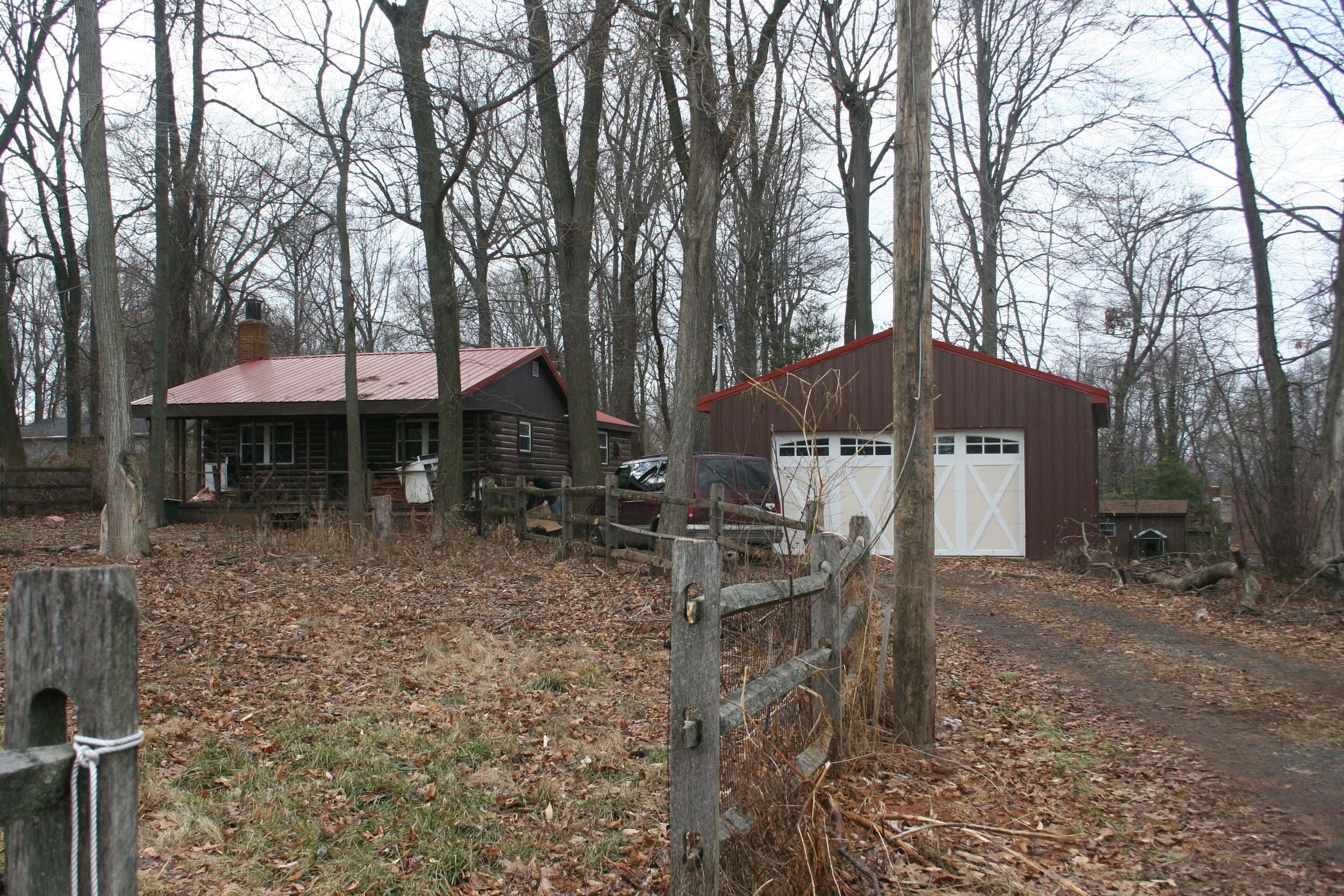 The Cabin Exterior - In Progres