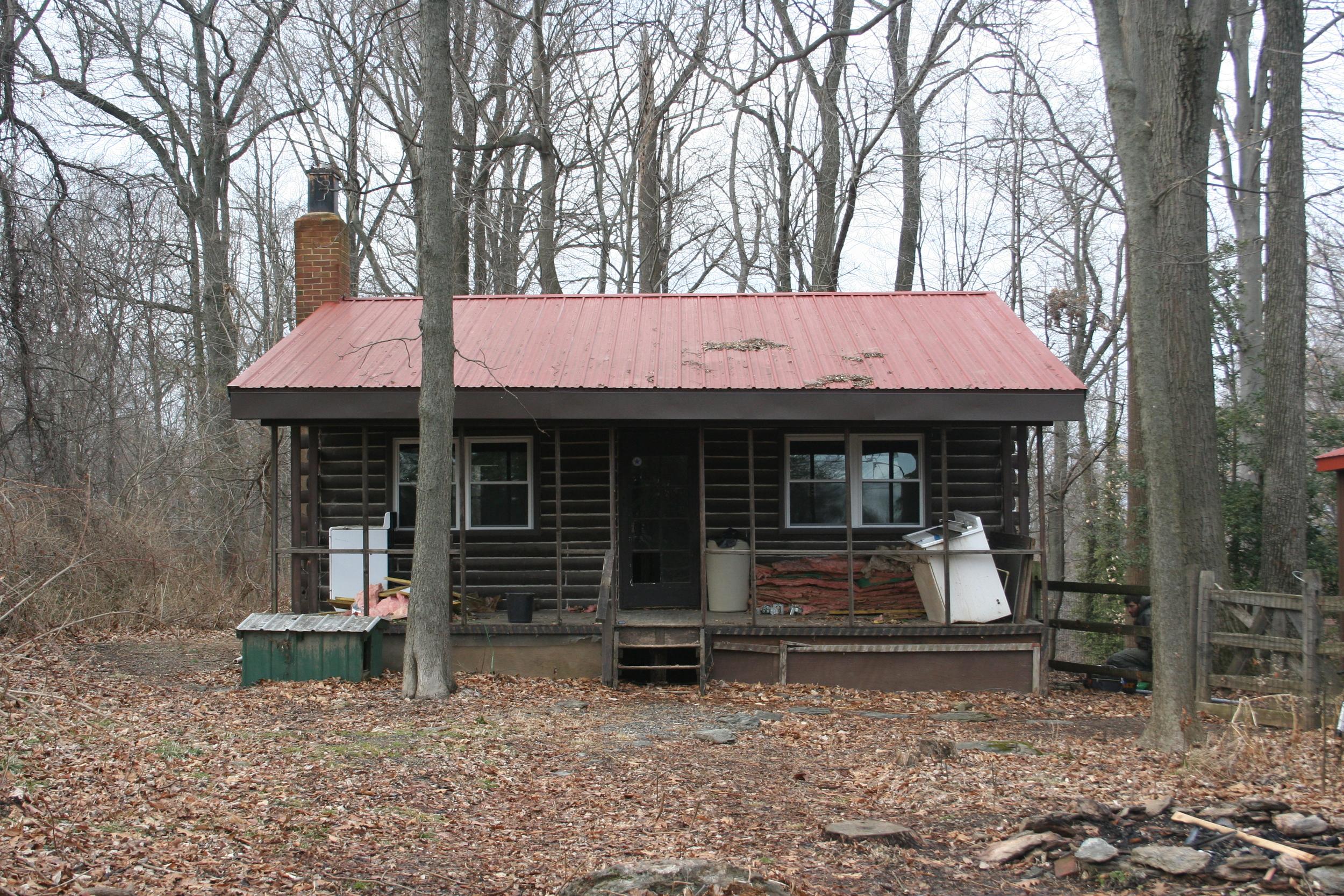 The Cabin Exterior - In Progress