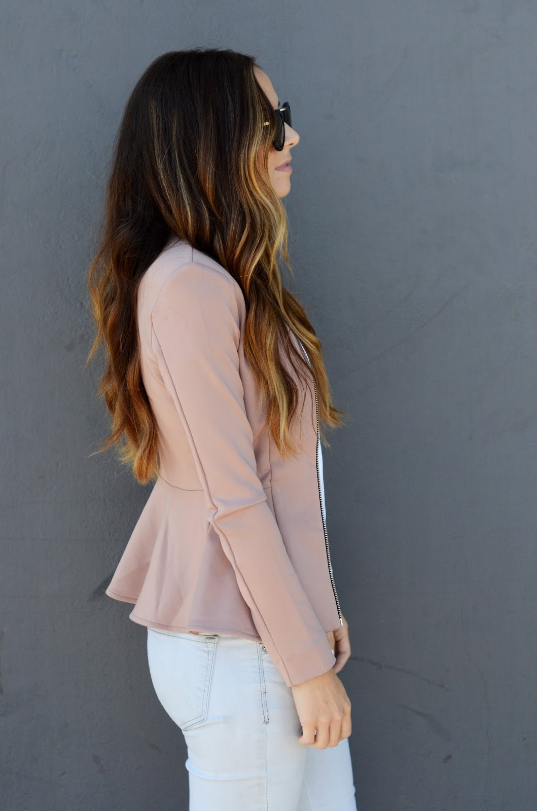 Merrick's Art Blush Jacket Spring Color Inspiration
