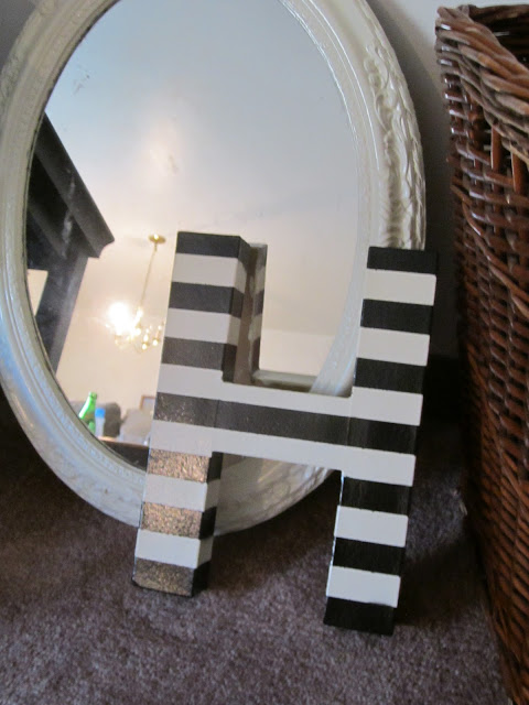 Two (and a half) ways to customize cardboard letters - Stevie Storck Design Co.