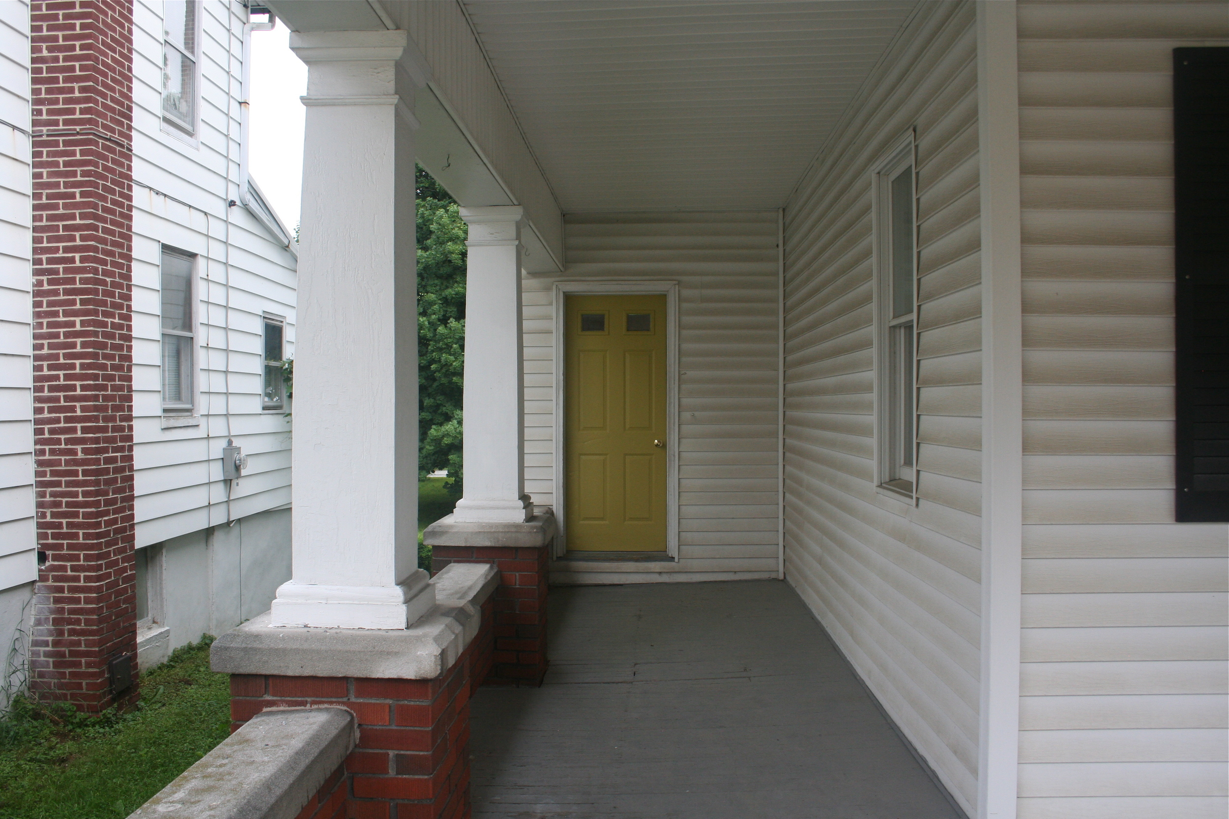 Front Door SW6042 Antiquity Sample Paint - Stevie Storck Design Co.