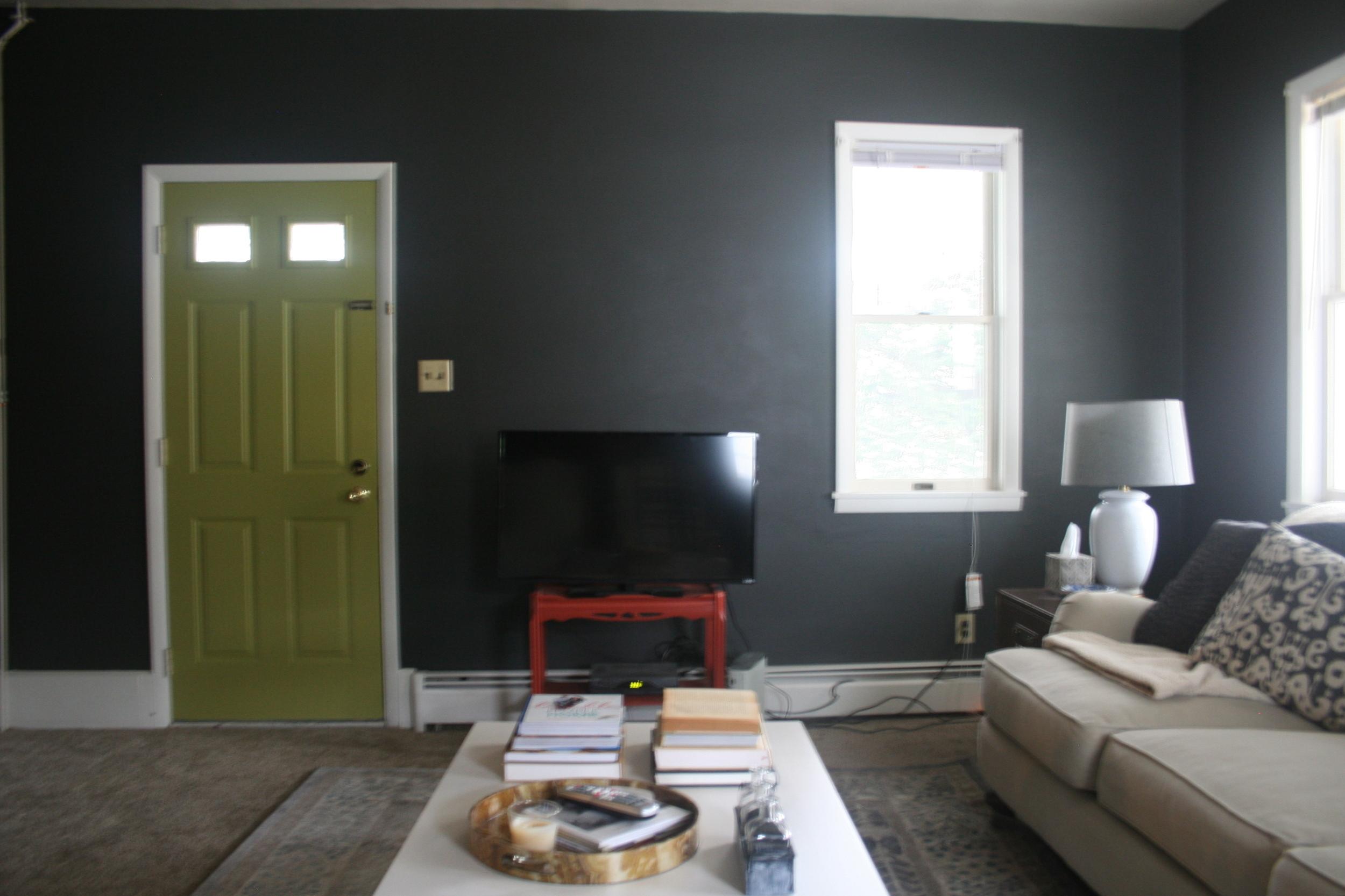 Living Room (Progress) - Stevie Storck Design Co.