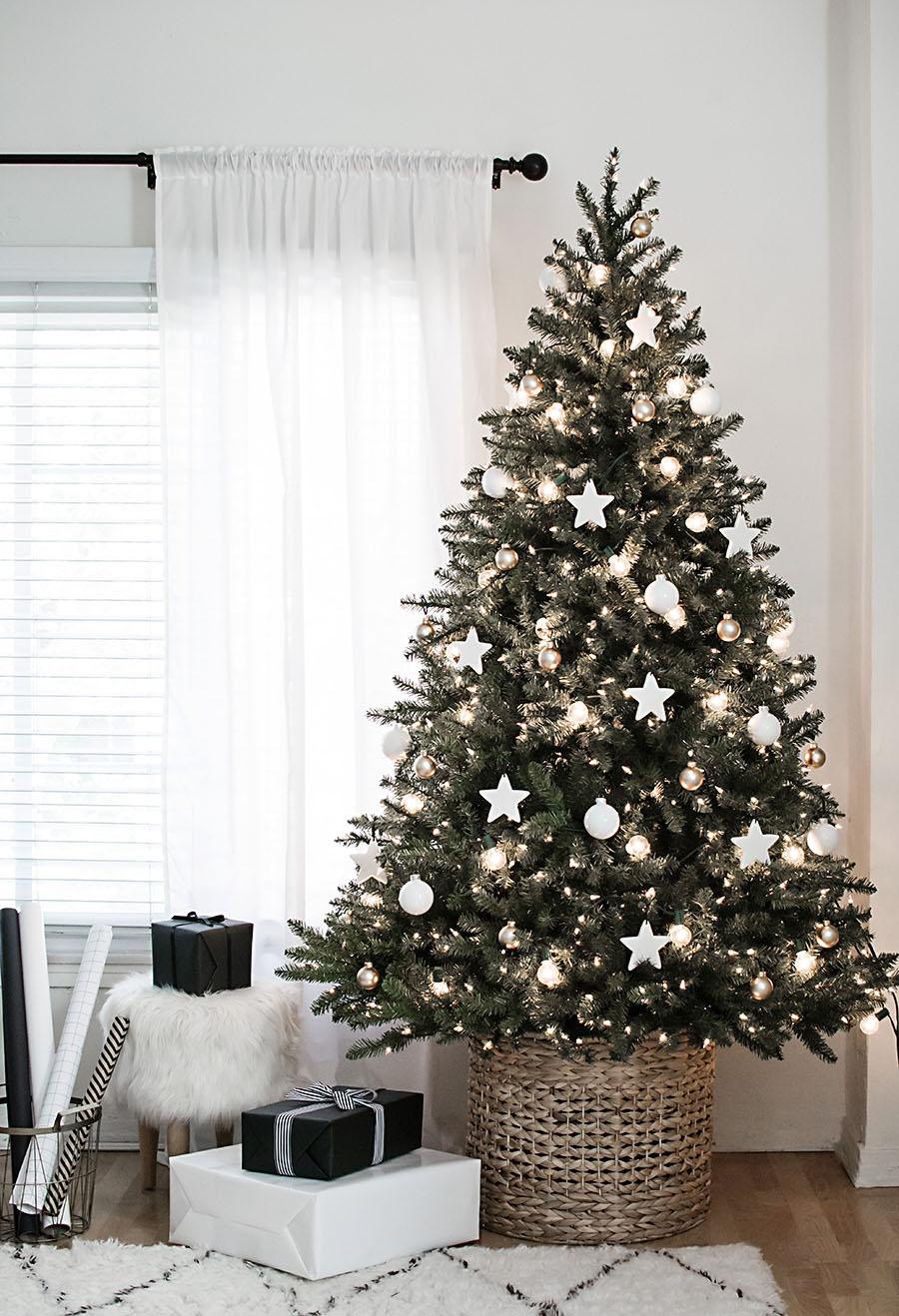 Christmas Tree Inspiration Roundup Stevie Storck Design Co