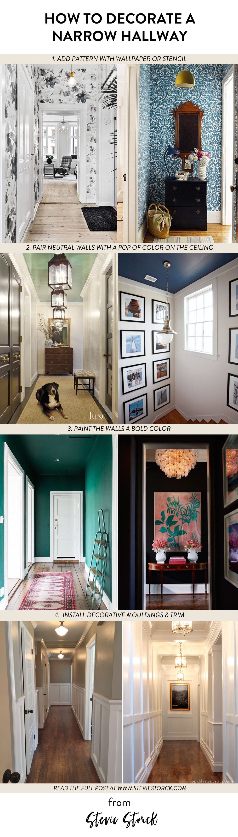 Decorating A Narrow Hallway Stevie Storck Design Co