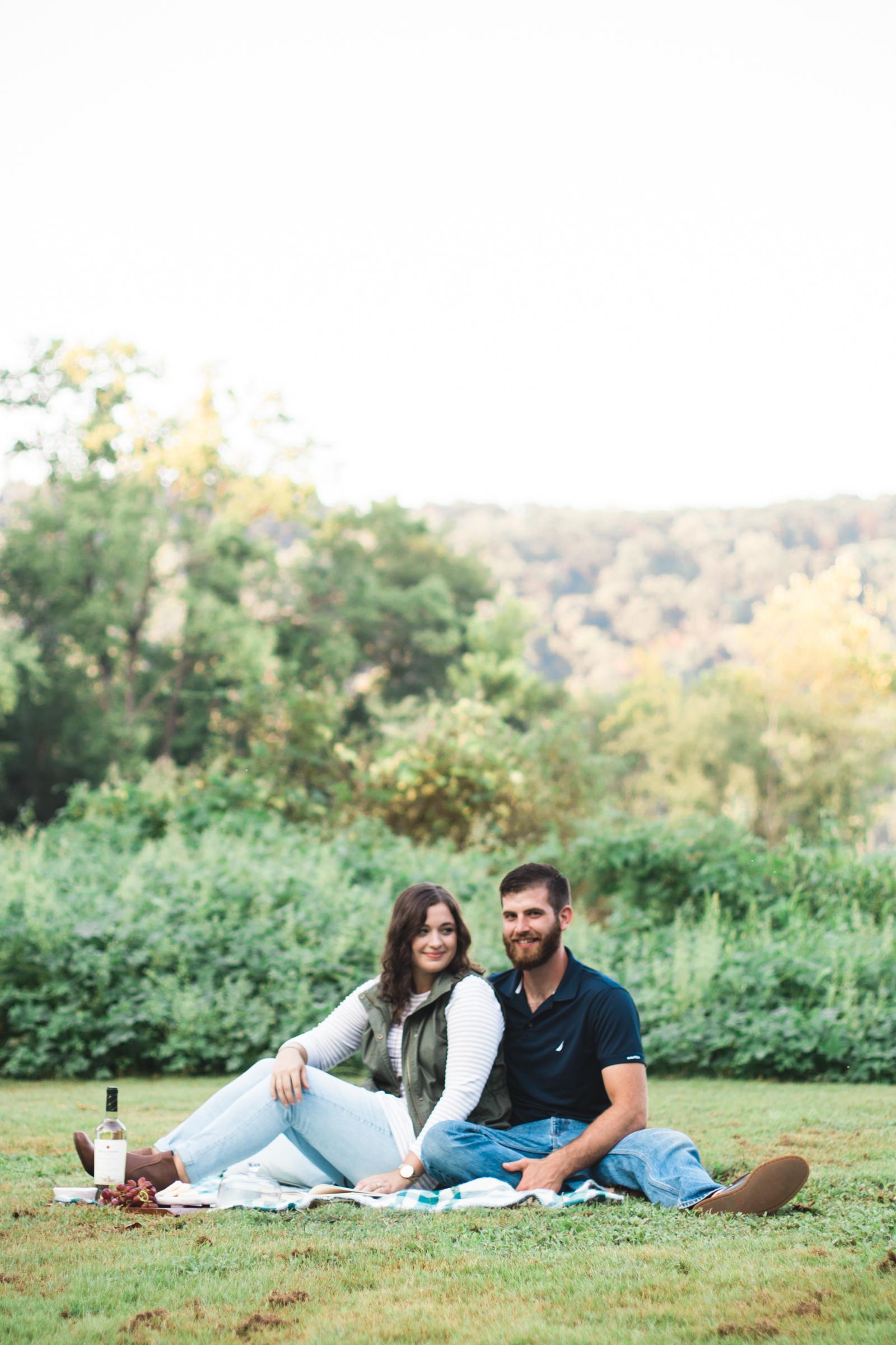 Three Years | Fall Couple Anniversary Photos by Savannah Smith Photography