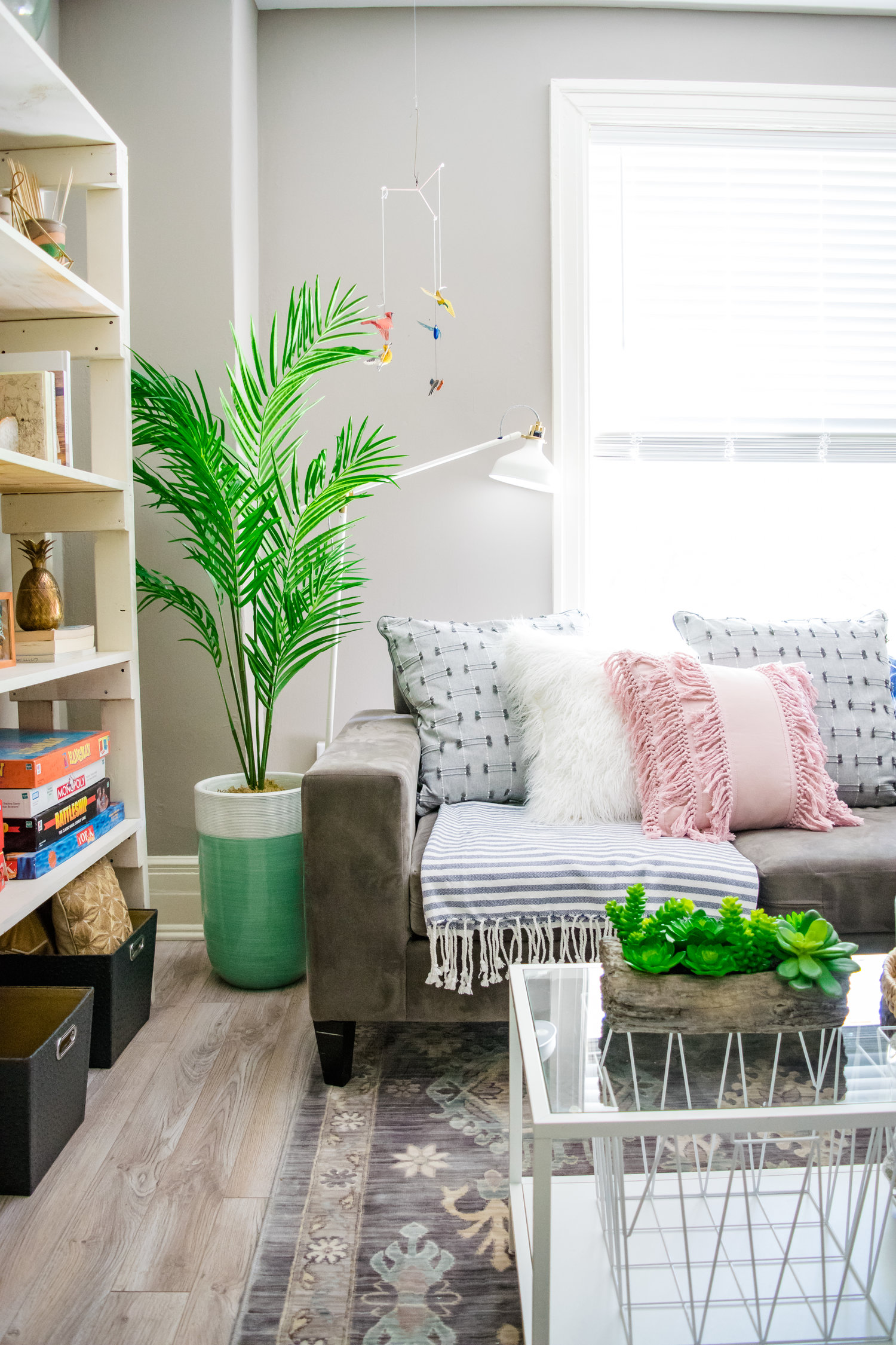 Before And After Apartment Living Room Makeover