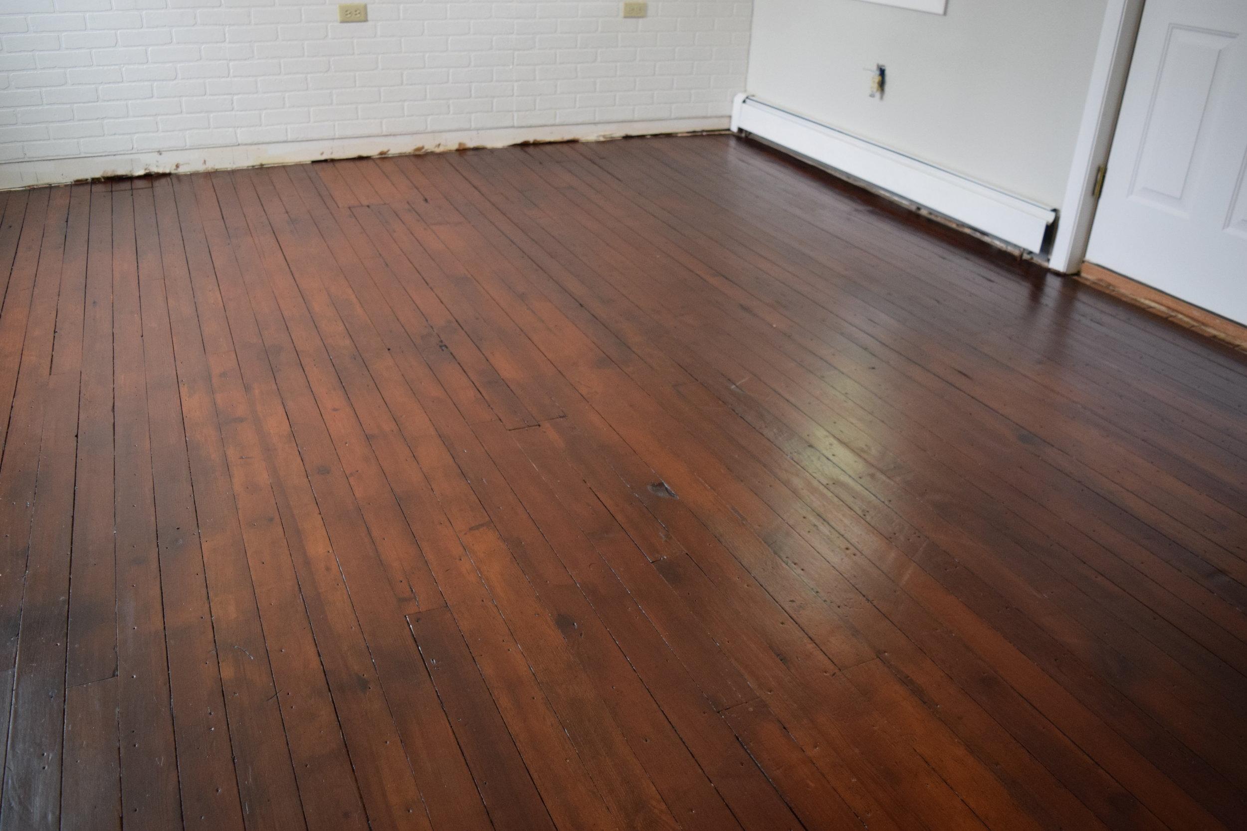 Refinishing Original Yellow Pine Floors