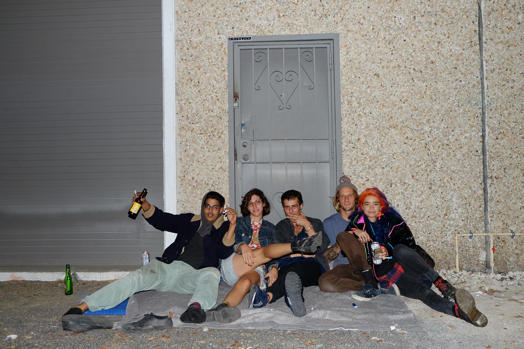 Franky, Deon, Michael, Giles, Tara, 7111, Little Haiti, 2014.