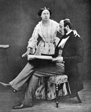 Queen Victoria and Prince Albert in 1854, about the time they befriended Harriet  (http://www.firstladies.org/biographies/firstladies.aspx?biography=16)