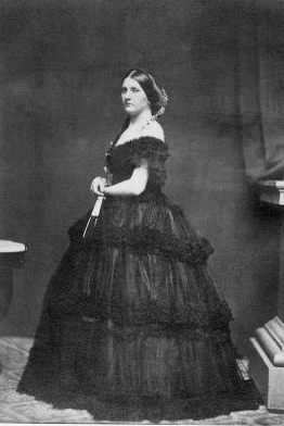 First Lady Harriet Lane, niece of President Buchanan