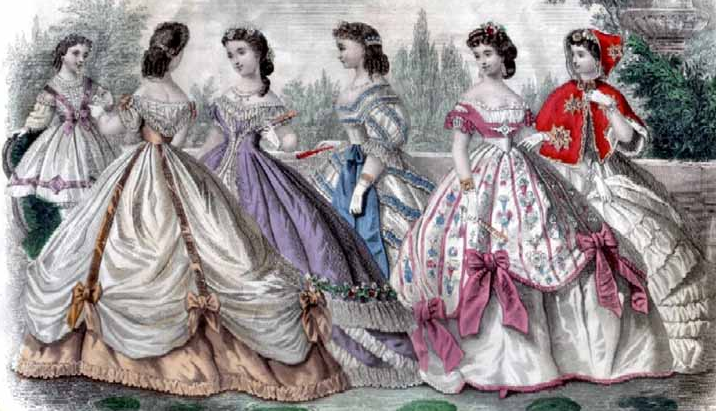 Plate from Godey's Lady's Book
