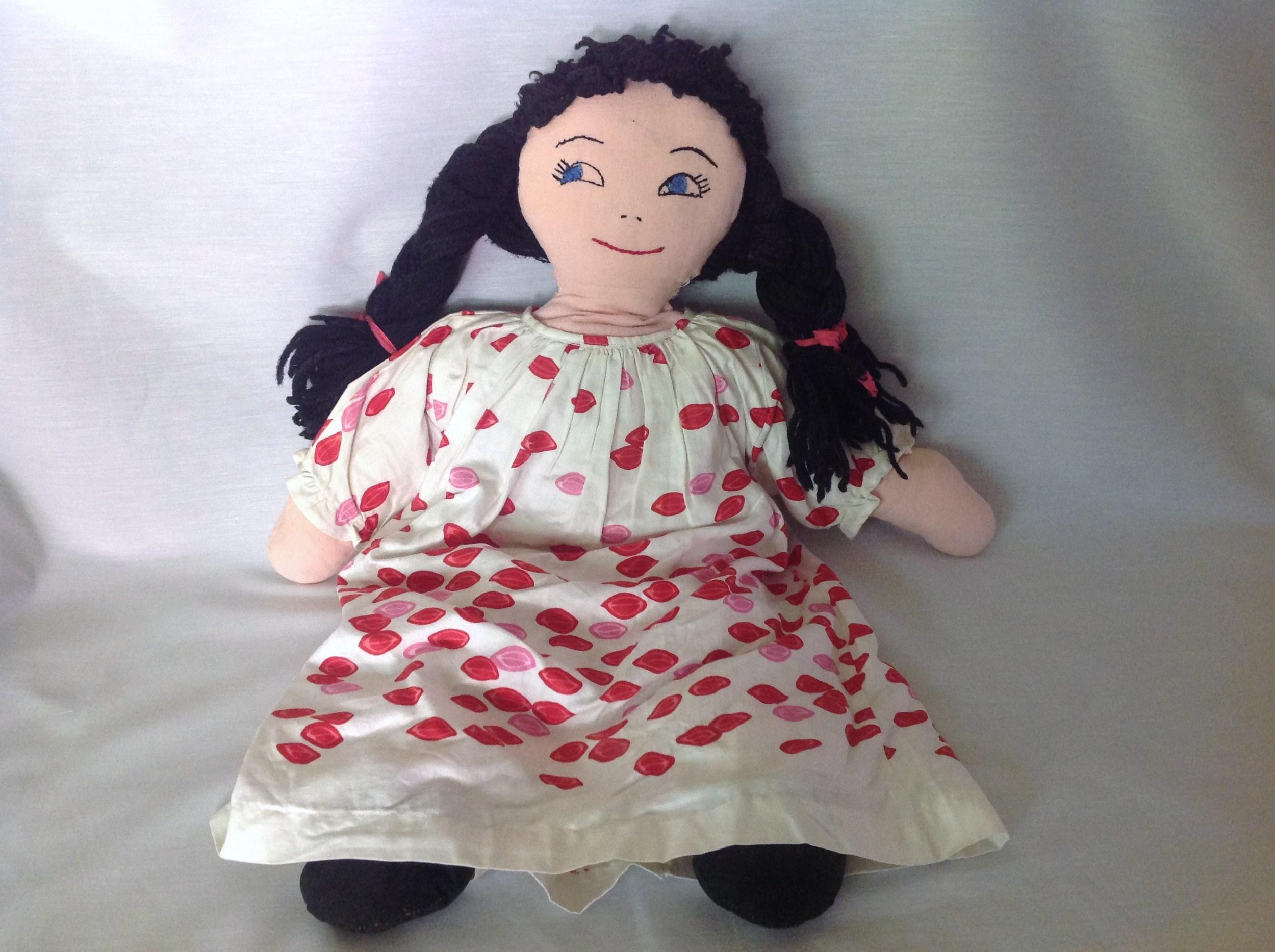 The rag doll Grandma Ethel made for me