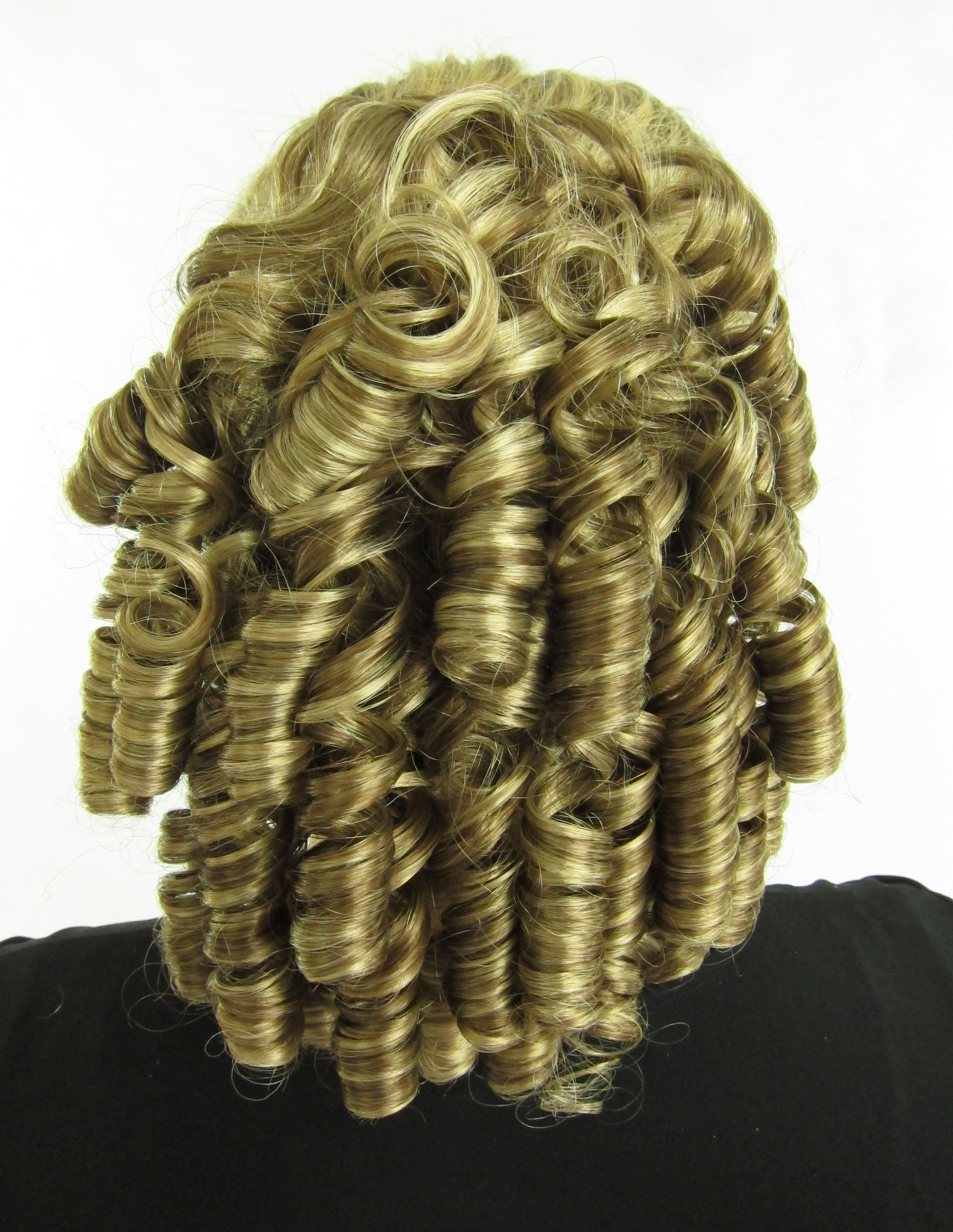 Medium Ringlet Curls, Civil War, Dickens,