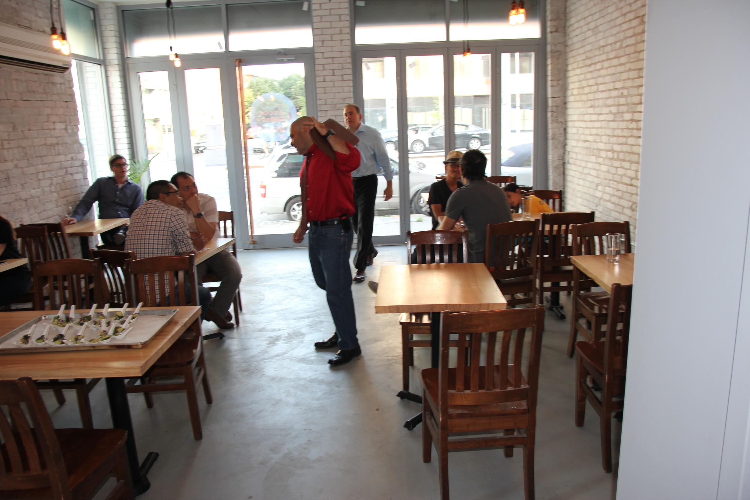 Ash Restaurant Tables