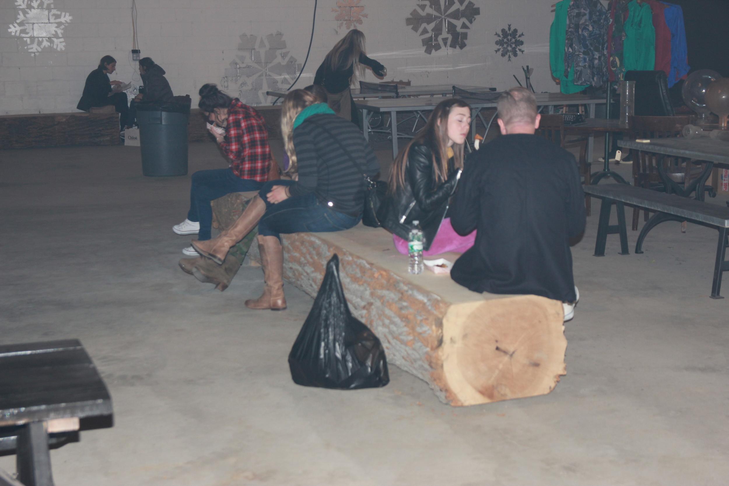 Poplar Stump Bench Brooklyn Flea