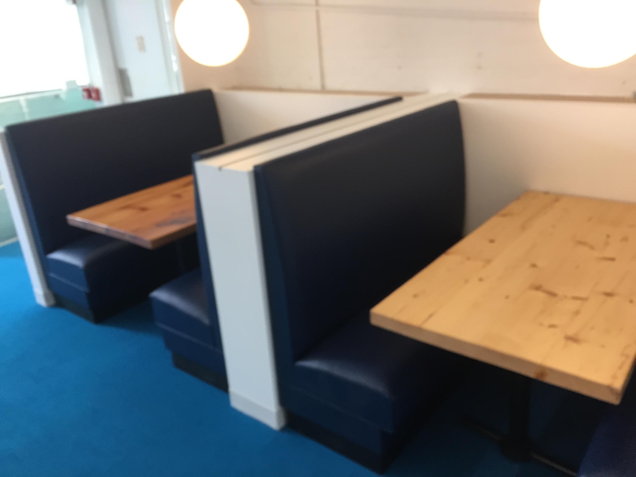 Cafeteria Area Tables