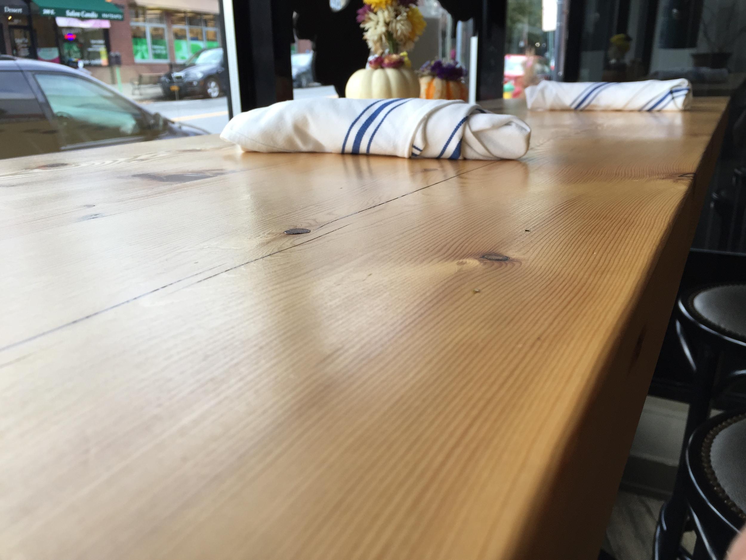 20 White Pine Tables