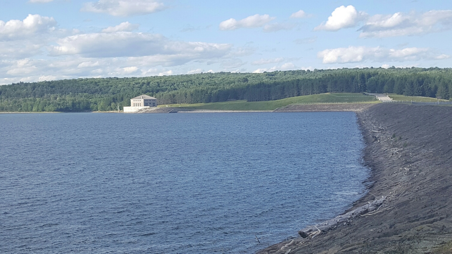 One of the reservoirs that supplies water to NYC