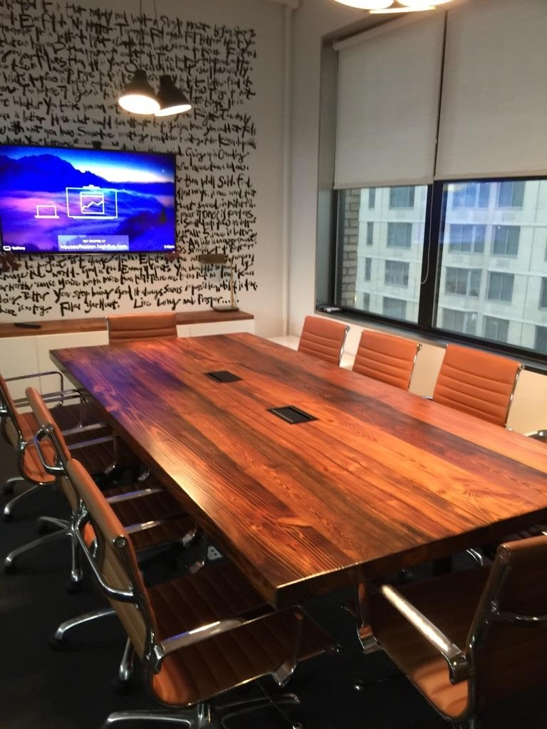Southern Yellow Pine Conference Table
