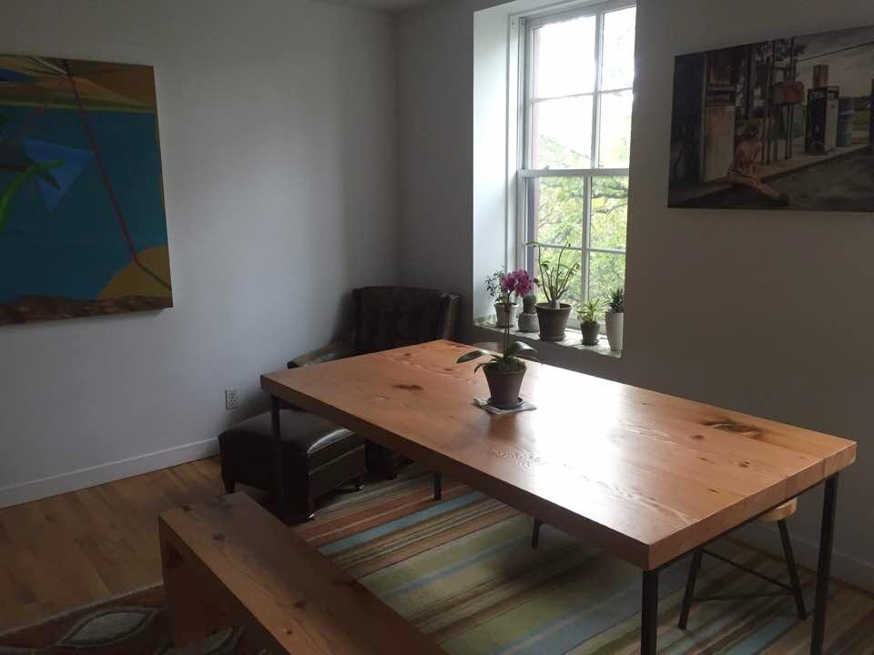 Douglas Fir Table and Bench