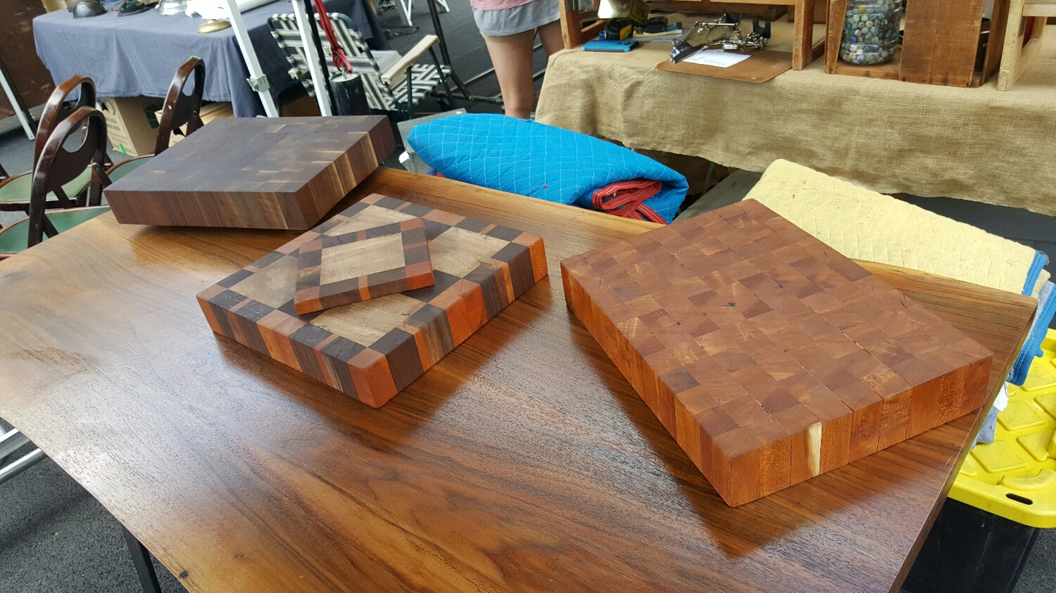 Handmade cutting boards and trivets