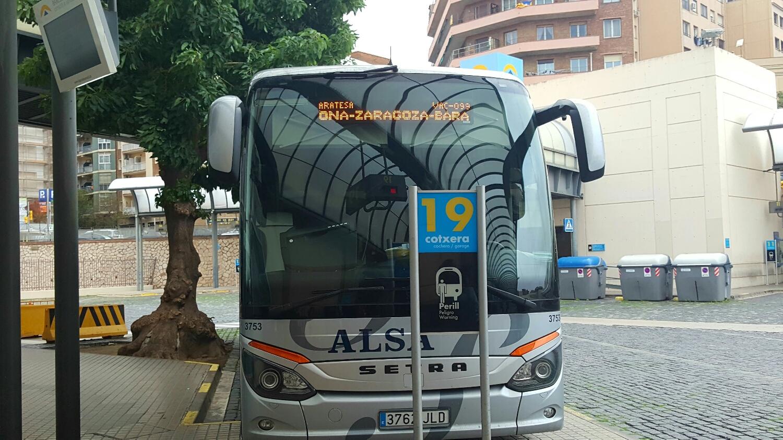 Bus - economical, clean, comfy and WiFi. Long a** trip but c'est la vie.