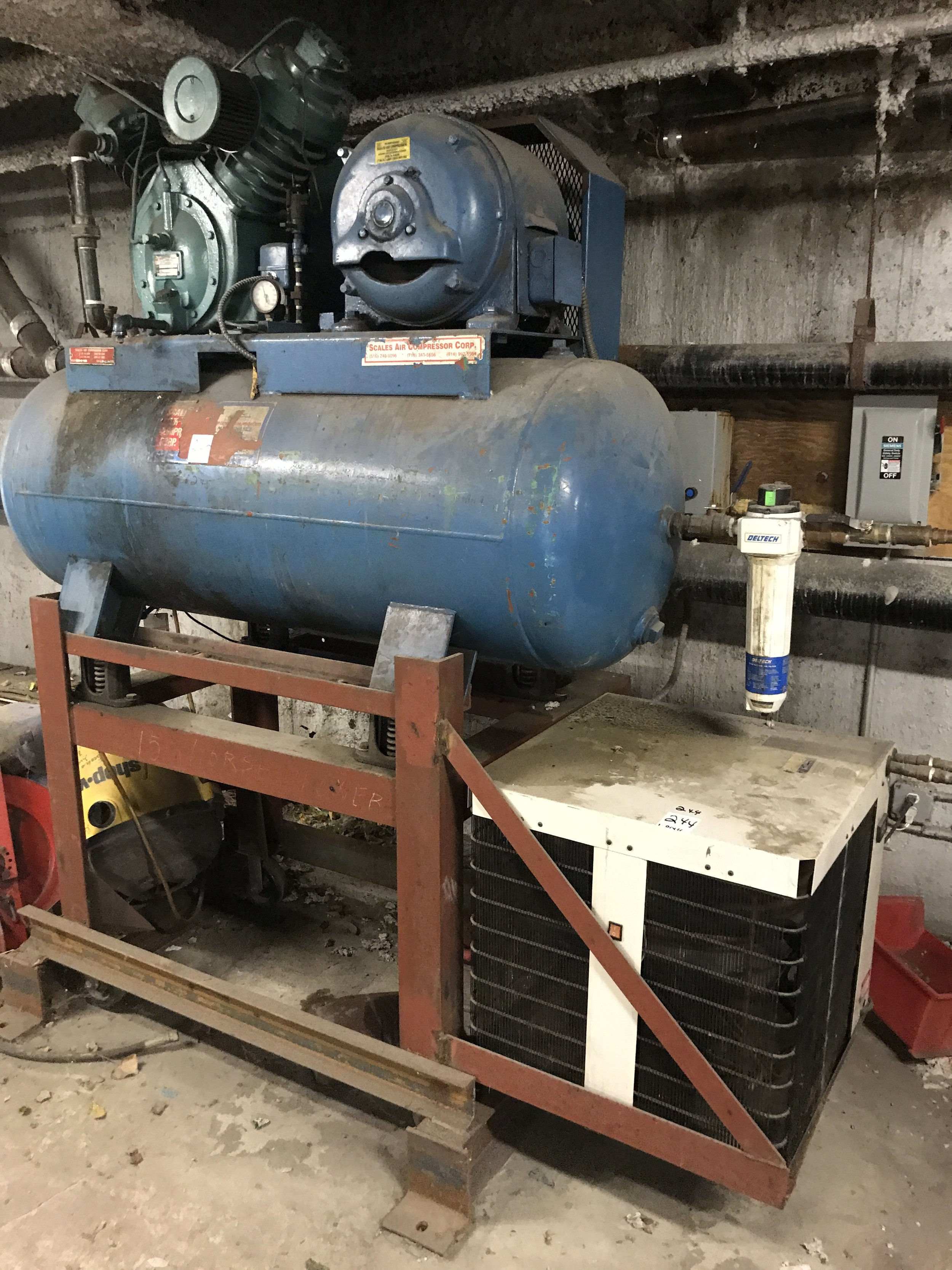 Air compressor and dryer