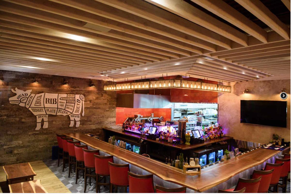 Black Walnut Bar and Tables